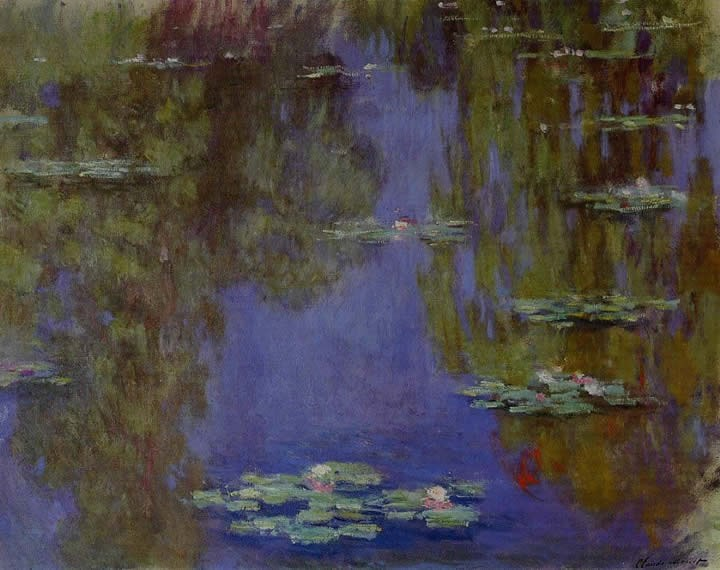 Claude Monet Water-Lilies 34